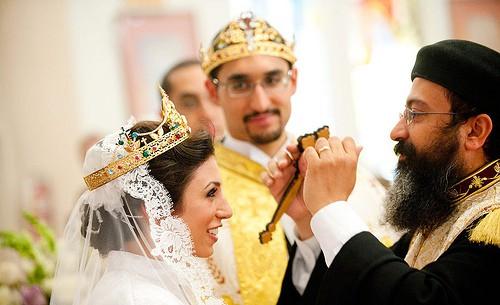 Coptic Egyptian wedding